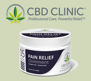 CBD Clinic Level 05 Pain Relief Ointment